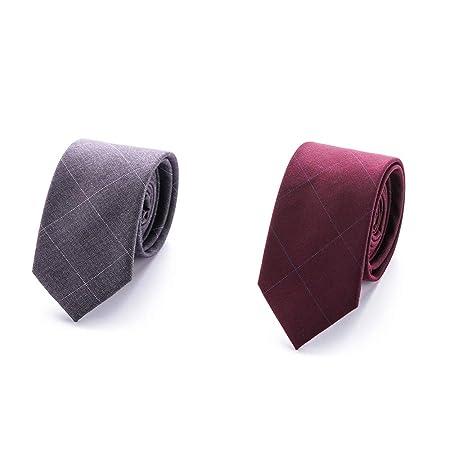 XIAXIACP Corbata de Boda, diseñador de Corbata para Hombre ...