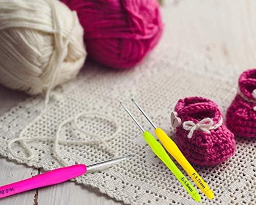 Boye ergonomique 12 Crochet Set Tailles B à N par BOYE-meilleur pour vos mains!!!