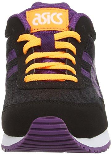 ASICS Curreo - Zapatillas bajas para mujer Negro (Black/Purple 9033)