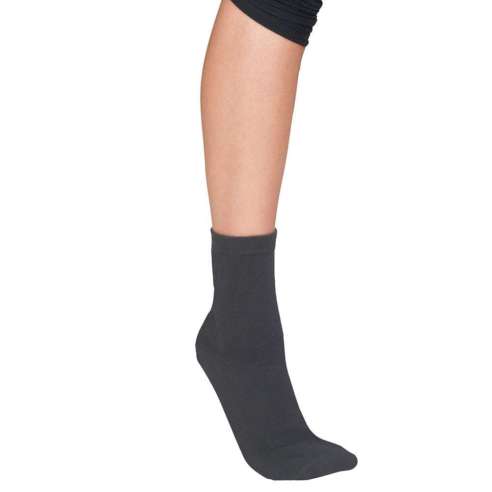 Men/'s Neuropathy Gel Footbed Crew Socks