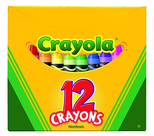 (Crayola Non-Toxic Crayon in Tuck Box (12 Pack), 5/16