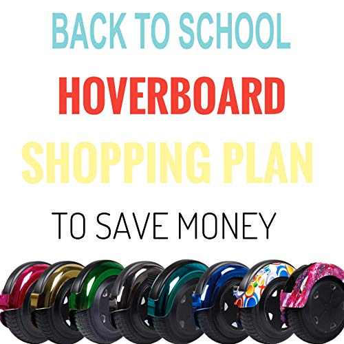 TST Hoverboard Smart SELF-Balancing Scooters with Start Wheel (Chrome Purple)