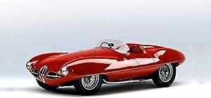 Lilarama USA 1952-Alfa-Romeo-C52-Disco-Volante-Touring-Spider-V1- - Super Car Classic Car - Giant Poster Print - Cool Wall Decor Art Print Poster