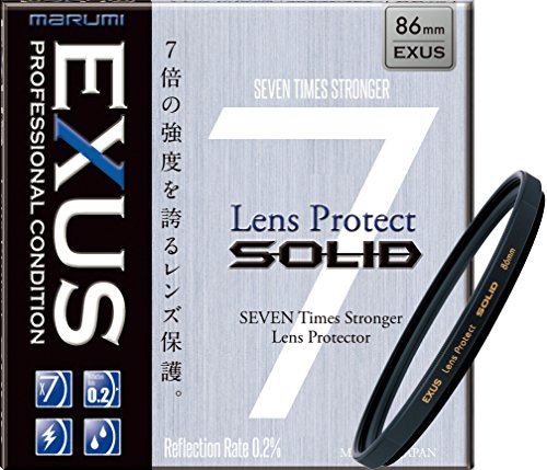 Marumi EXUS SOLID 86mm Lens Protect Filter Anti-Static Hard Coated 86 Made in Japan