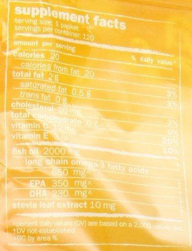 Coromega Omega3 Squeeze Packets