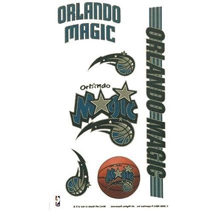 Amazon.com: Orlando Magic 4\'\' x 7\'\' Temporary Tattoo Sheet: Sports ...