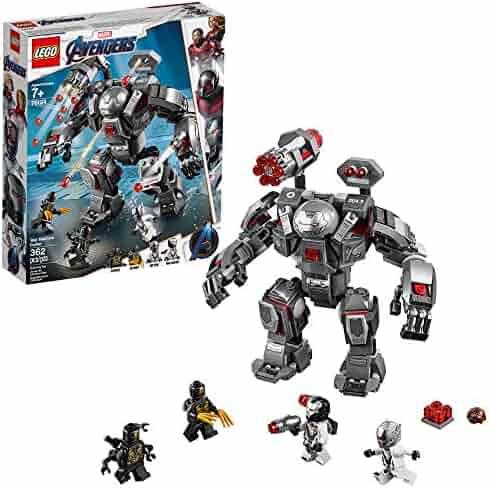LEGO Marvel Avengers War Machine Buster 76124 Building Kit (362 Piece)