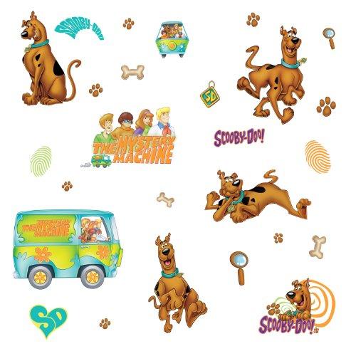 RoomMates Scooby Doo Peel and Stick Wall - Wall Stickers Scooby Doo