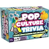 Pop Culture Trivia - A Game About Fashions Fads and Crazes - Features 220 Cards with Over 800 Questions and Answers…