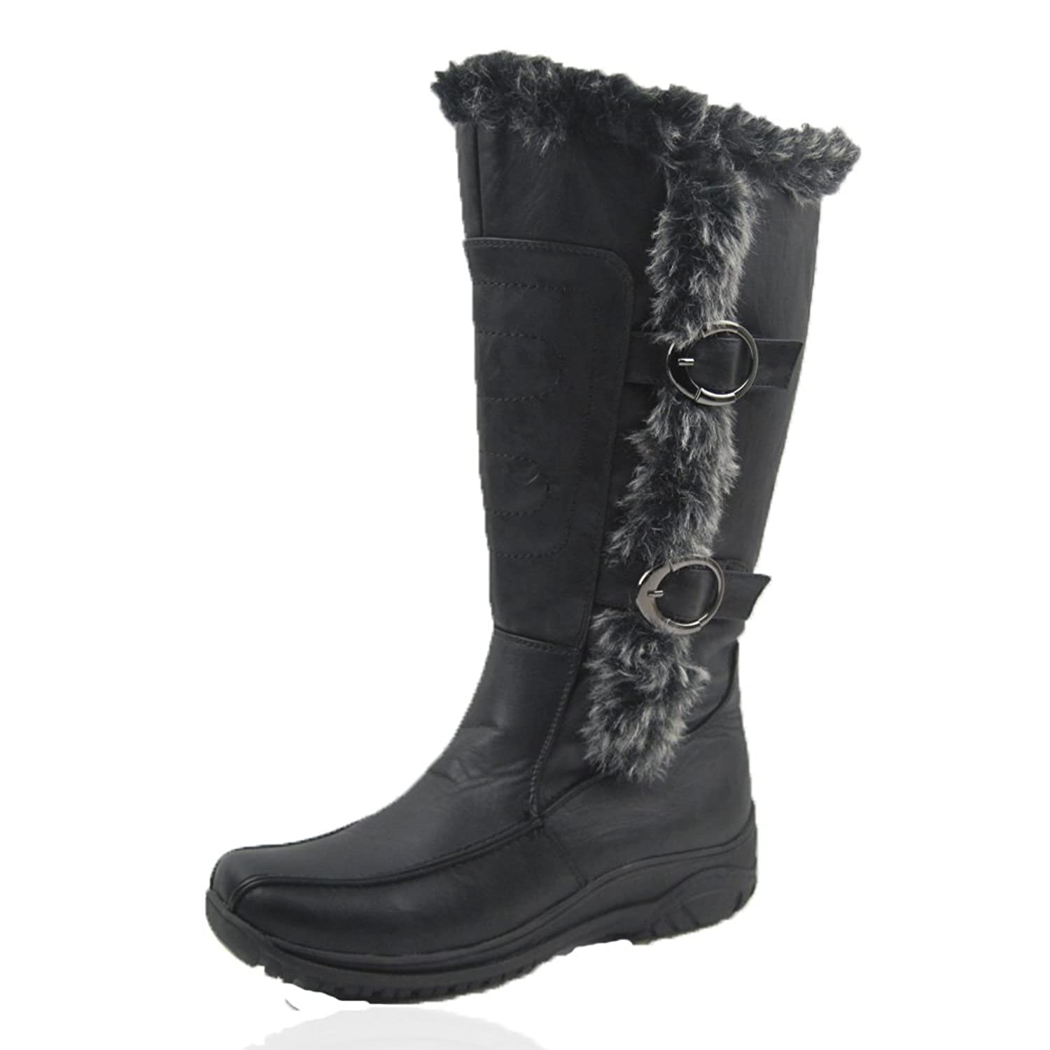 Comfy Moda Women's Winter Snow Boots Tina #6-12