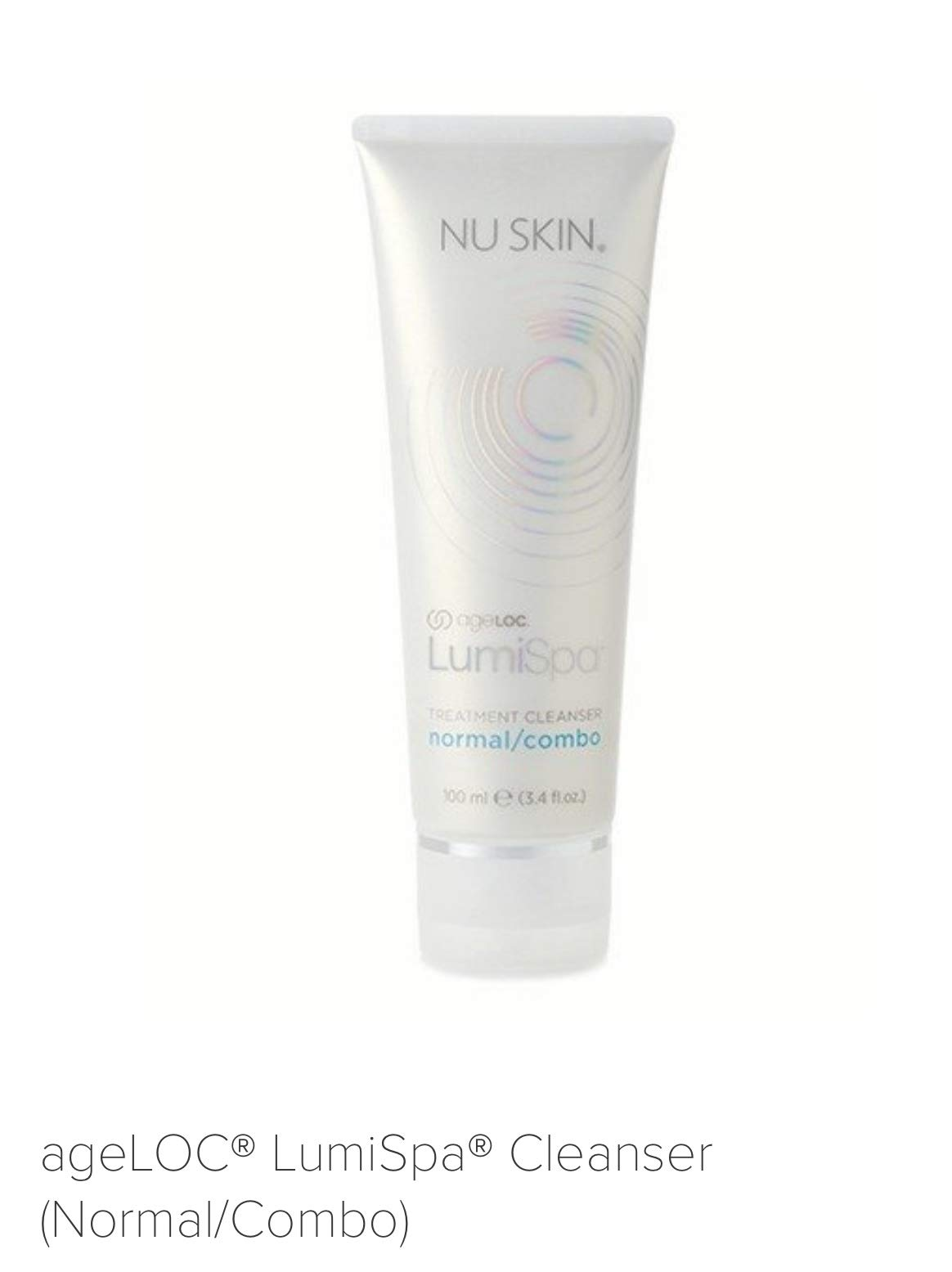Nuskin Nu Skin Ageloc Lumispa Treatment Cleanser for Normal /Combo 100ml 3.4oz