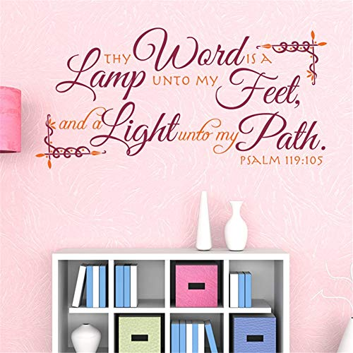 Be A Light Unto My Path Bible Verse in US - 4