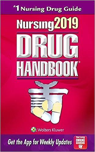 Nursing Drug Guide Ebook