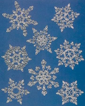 Amazon Quilling Kit Snowflakes Arts Crafts Sewing