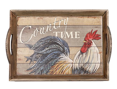 Rooster Serving Platter - Special T Imports 18