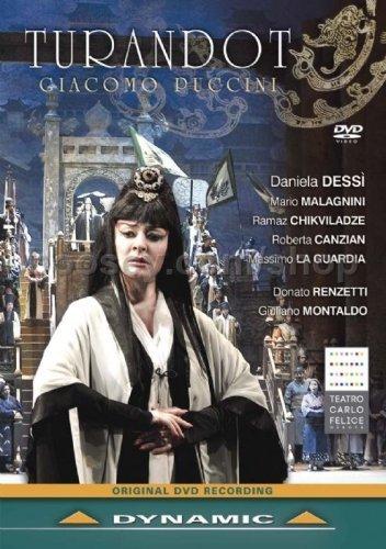 Puccini:Turandot Donato Renzetti, Various DYNAMIC: DVD 2012 NTSC by Massimo La Guardia: Amazon.es: Massimo La Guardia, Ramaz Chikviladze, Mario Malagnini, Roberta Canzian, Francesco Verna, unknown: Cine y Series TV