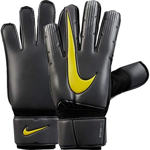 Nike Spyne Pro Goalkeeper Gloves (Gray/Yellow, 8)