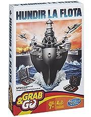 Hasbro Gaming- Gaming Travel Juego Battleship Viaje (Hasbro Spain B0995175)