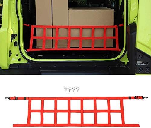Xigeapg Heck Koffer Cargo Geschirmt Isolation Netz Abdeckung Trim f/ür Jimny 2019 2020 Auto Zubeh?R