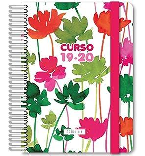 Grafoplás Agenda escolar Flores A5 2 días por página 2018 ...