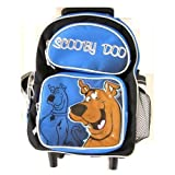 Wb Scooby Doo Toddler Sized (Medium) Luggage Rolling Backpack, Bags Central