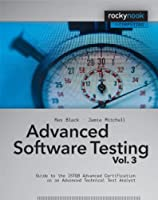 Advanced Software Testing – Vol. 3 Front Cover