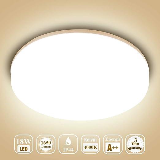 Deckenlampe Led Deckenleuchte Ouesen Lampe Decke Wasserdicht