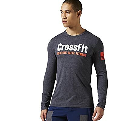 Reebok Men's Crossfit Forging Elite Fitness Long Sleeve Tee