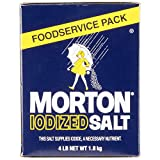 4 lb. Bulk Iodized Table Salt By TableTop King
