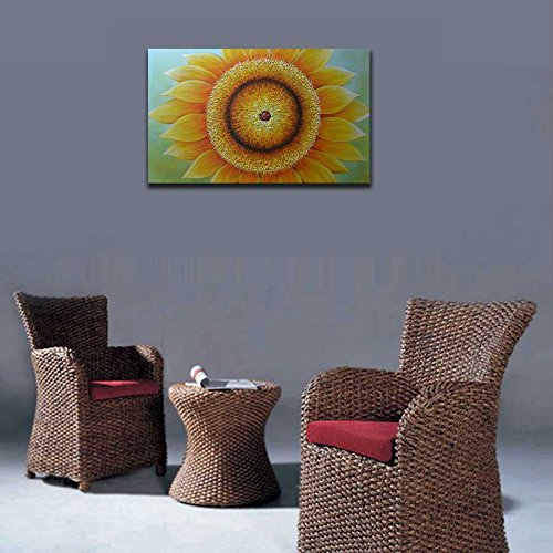 Sunflowers Paintings on Canvas Cute Yellow canvas wall art