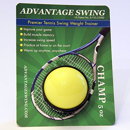 (Advantage Swing Champ 5 Ounce Tennis Swing Weight)