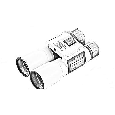 HZJ TéLescope-30x40 Dual Focus ImperméAble à L'Eau Avec Pour L'Observation Des Oiseaux, La Chasse, La RandonnéE, Le Camping, La RandonnéE, En Plein Air, Le Mouvement De Golf Portable Blanc