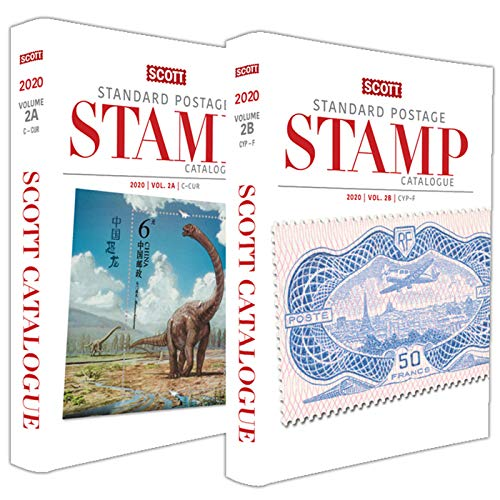 2020 Scott Standard Postage Stamp Catalogue Volume 2 (C-F) (Scott Catalogues)