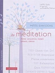 Petits exercices de méditation par Latifa Gallo