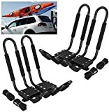 Car Rack & Carriers© Universal 2 Pairs J- shape Rack...