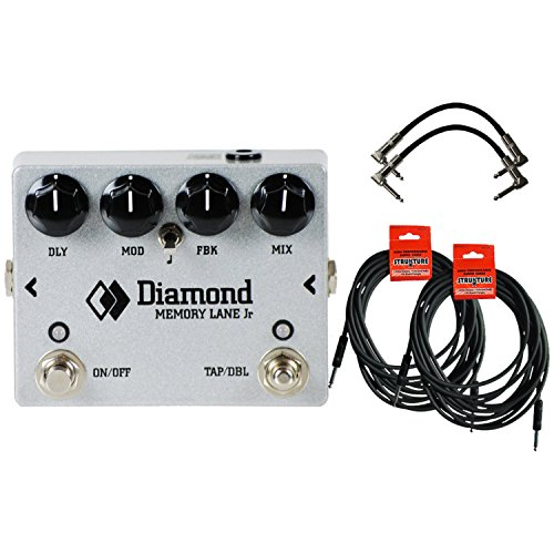 Diamond Memory Lane Junior - Delay Pedal w/ 4 (Diamond Memory Lane Delay)