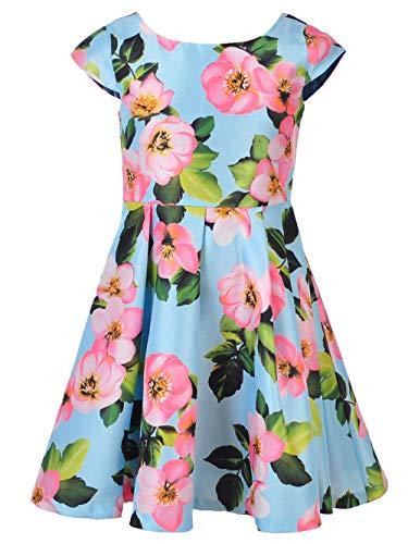 Bonnie Jean Big Girls Dress - Mint, 7 ()