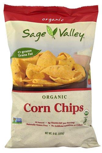 Valley Corn (Sage Valley Organic Corn Chips -- 9 oz - 2 pc)
