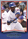 2008 Upper Deck Timeline #13 Alfonso Soriano Chicago Cubs Baseball Card