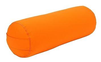 Yoga y Pilates Bolster Made in Germany, Naranja