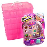 LifeSmart Stackable Storage Container. Pink, with Shopkins Season 5, 12-Pack