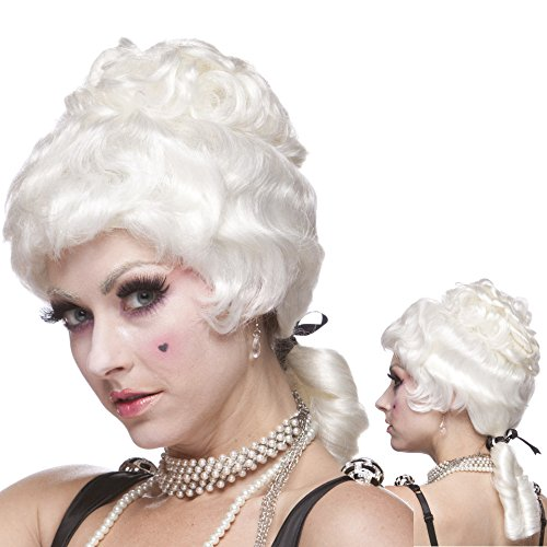 Sepia Costume Wigs (Sepia Costume Colonial Lady Synthetic Wig White)