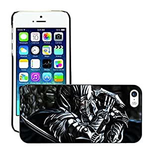 Hot Style Cell Phone PC Hard Case Cover // M00045474 artistic armor helmet sword fantasy // Apple iPhone 5 5S