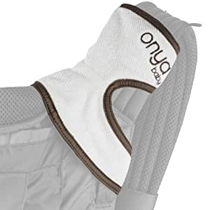 Onya Baby Chewie Baby Carrier Teething Pad - Slate Gray
