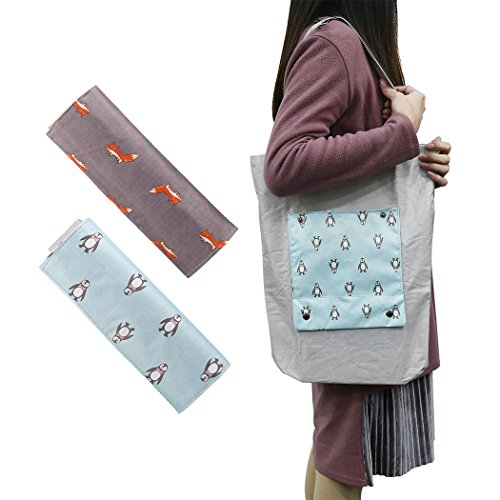 Eco Friendly Folding Tote Bags - 6