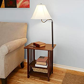 Better homes and gardens end table floor lamp amazon better homes and gardens end table floor lamp aloadofball Choice Image