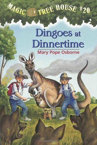 Dingoes at Dinnertime - Book #20 of the Magic Tree House
