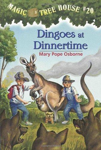 Dingoes at Dinnertime - Book #18 of the Das magische Baumhaus