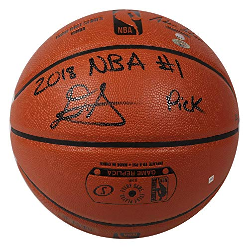 DEANDRE AYTON Autographed (Black) and Inscribed