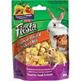 Kaytee Fiesta Tropical Fruit and Yogurt Mix for Small Animals, 3-1/2-Ounce, My Pet Supplies